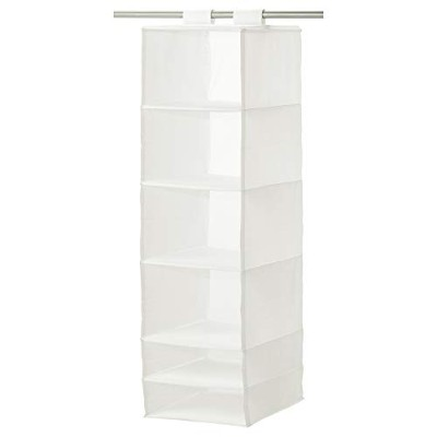 Ikea Organizer Hanging 6 Compartment Storage Closet White by Ikea