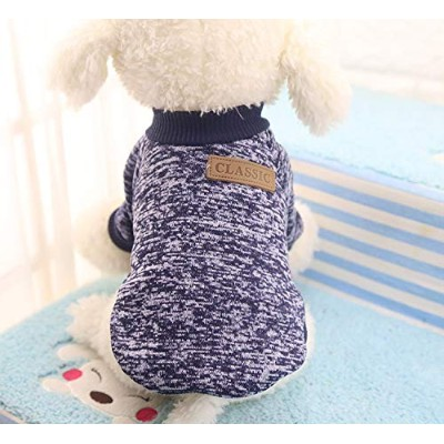 Gyvoxz - Dog Clothes For Small Dogs Soft Pet Dog Sweater Clothing For Dog Winter Chihuahua Clothes...