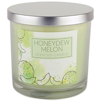 (Honey Dew Scent) - Home Traditions 3-Wick Evenly Burning Highly Scented 10cm x 10cm Large Jar...