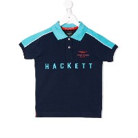 Hackett Kids Aston Martin Racing ポロシャツ - ブルー