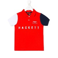 Hackett Kids Aston Martin Racing ポロシャツ - レッド