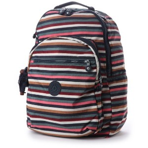【SALE 30%OFF】キプリング Kipling CLAS SEOUL (Multi Stripes) レディース
