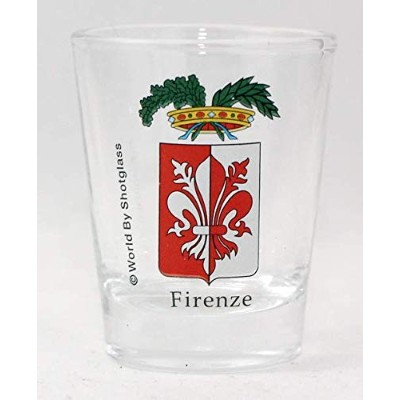 Florence (Firenze) Italy Coat Of Arms Shot Glass
