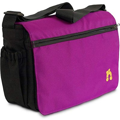 Out 'N' About Changing Bag - Purple Punch