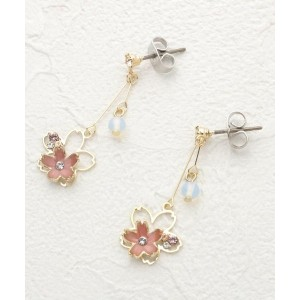 【ITS' DEMO(イッツデモ)】 ダブル桜ピアス OUTLET > ITS' DEMO > アクセサリー > ピアス ピンク