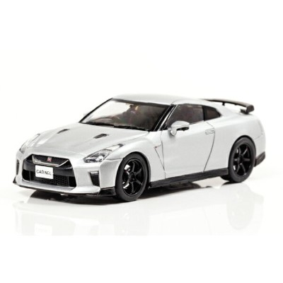 CAR-NEL(カーネル) 日産 GT-R Track edition engineered by nismo (R35) 2017 (Ultimate Metal Silver) 1/43...