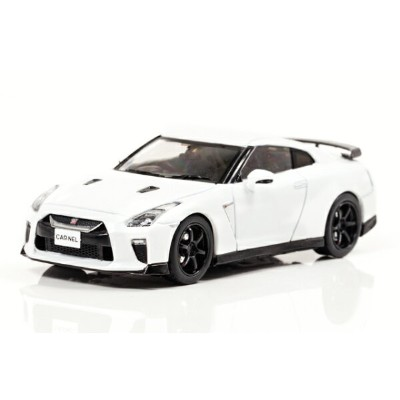 CAR-NEL(カーネル) 日産 GT-R Track edition engineered by nismo (R35) 2017 (Brilliant White Pearl) 1/43...