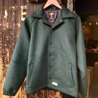 green clothing グリーンクロージング THE 289 JACKET Forest【ミッドレイヤー】