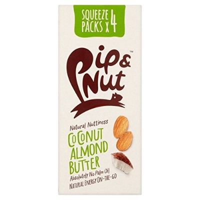 Pip & Nut Coconut Almond Butter Squeeze Pack Multipack 4 x 30g - (Pip & Nut) ココナッツアーモンドバタースクイズパックマルチ...