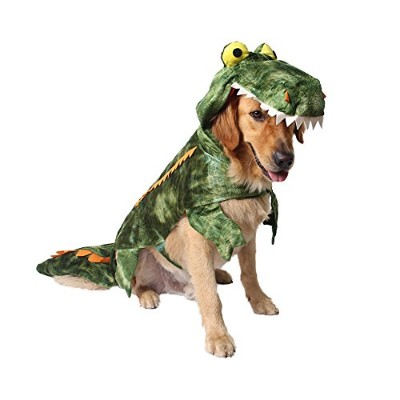 MUYAOPET Halloween Crocodile Dog Costume Small Large Dog Clothes Dog Party Dress