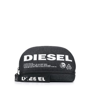 Diesel New D-Easy zipped pouch - ブルー