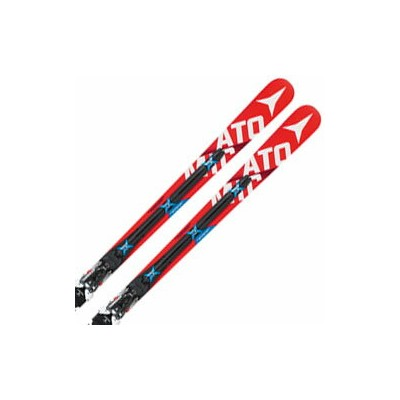 ATOMIC〔アトミック スキー板〕 2016 REDSTER FIS DOUBLEDECK 3.0 GS M + X16 VAR【金具付き・取付料送料無料】【TNPD】【チューン済み】〔SA〕
