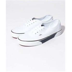 nano・universe VANS:AUTHENTIC(ホワイト) メンズ