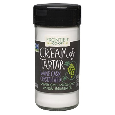 Frontier Natural Products, Cream of Tartar, Powder, 3.52 oz (99 g)