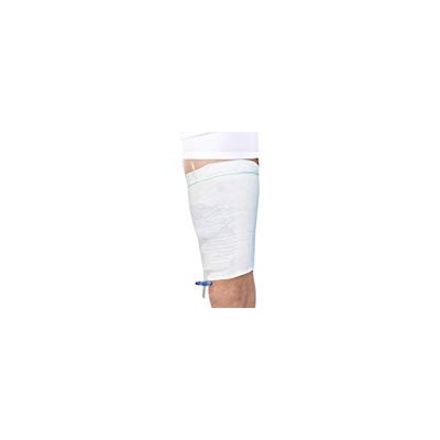 Carer Comfort Sleeve Urine Catheter Bag Leg Holder for Incontinence Supporting Attached 2pcs Middle...