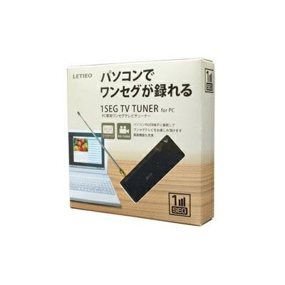 Red Spice PC専用ワンセグテレビーチューナー LT-DT306BK[定形外郵便、送料無料、代引不可]