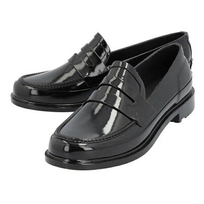 HUNTER (M)M REFINED PENNY LOAFER GLOSS ハンター シューズ【送料無料】