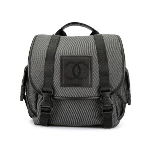 Chanel Pre-Owned Sport Line バックパック - ブラック