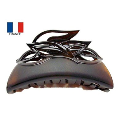 Made in France バンス クリップ ノーブル べっ甲