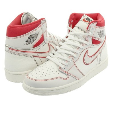 【ビッグサイズ】 NIKE AIR JORDAN 1 RETRO HIGH OG ナイキ エア ジョーダン 1 レトロ ハイ OG SAIL/BLACK/PHANTOM/UNIVERSITY RED...