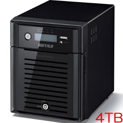 バッファロー TeraStation WSS WS5000N6 WS5400DN04W6 [WSS2016 WE搭載 4ベイ NAS 4TB]