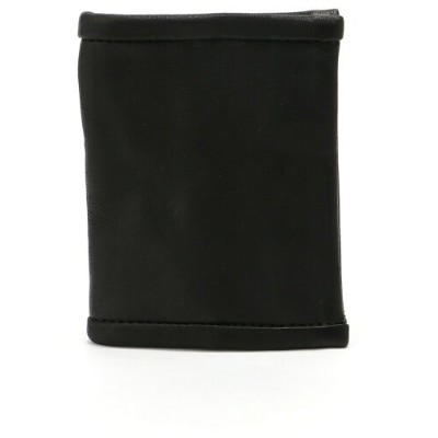 OUT LEATHER OUT LEATHER/(U)COIN CASE TYPE1 ダマスキーナ 財布/小物 財布 ブラック【送料無料】