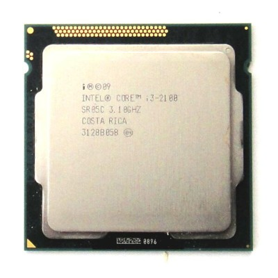 【中古】Intel Core i3 2100 3.1GHz 3M LGA1155 SR05C