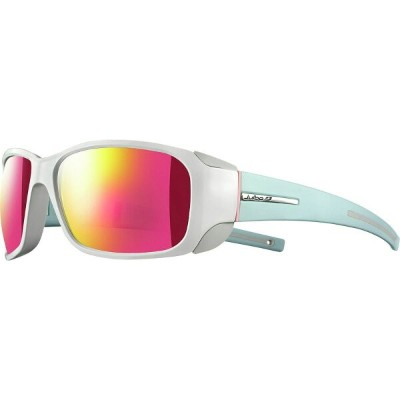 ジュルボ Julbo レディース スポーツサングラス【Monterosa Spectron 3 Sunglasses】Shiny White/Matte Mint Blue