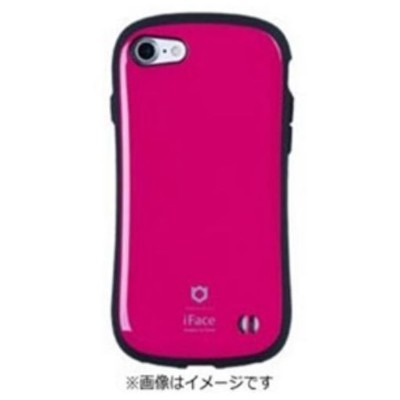 HAMEE iPhone 7用 iface First Classケース ホットピンク