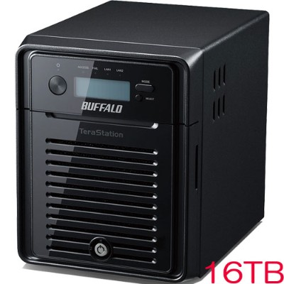 バッファロー WSH5411DN16W6 [TeraStation WSS HR WSS2016 WE NAS 16TB]