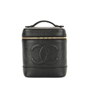 Chanel Pre-Owned ココマーク バニティバッグ - ブラック