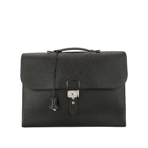 Hermès Pre-Owned Depeches 41 バッグ - ブラック