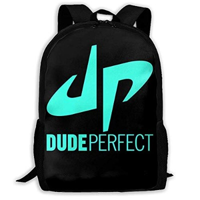 e9a7498904ae リュックサック Dude Perfect Logo DP 双肩バッグ バックパック Schoolbag For Mens And Womens 大