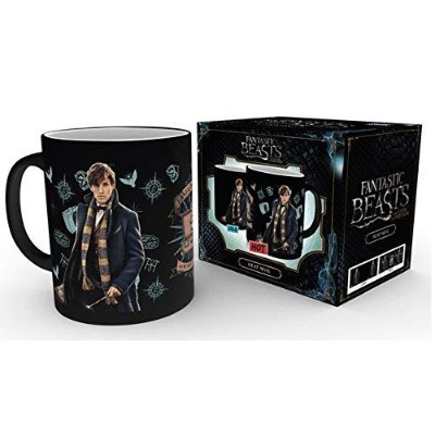 Gb Eye Ltd Gb Eye, Fantastic Beasts, Newt Scamader, Heat Changing Mug, Various