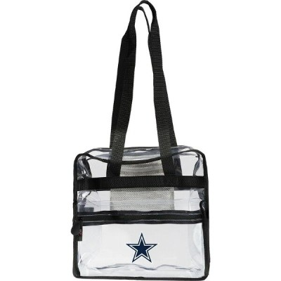 NFL メンズ スーツケース バッグ Clear-Zone Stadium Tote Cowboys