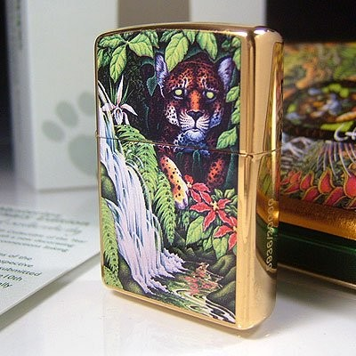 Zippo 世界3万個限定 10th Anniversary Mysteries of the Forest 記念 シリアルナンバー入り ジッポ 21110