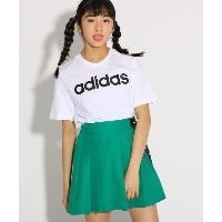 【PINK-latte(ピンク ラテ)】 【adidas/アディダス】 COREリニアTシャツ OUTLET > PINK-latte > トップス > Tシャツ オフホワイト
