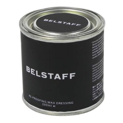 【ベルスタッフ/Belstaff】 RE-PROOFING WAX DRESSING 200ML ワックス缶