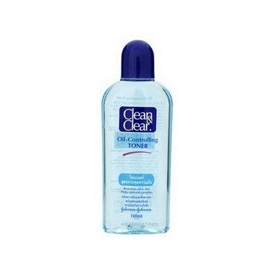 Clean & Clear トナー100ミリリットル以上。
