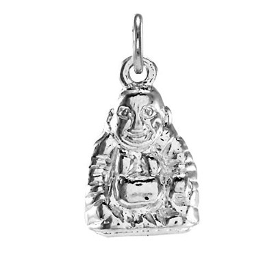 TheCharmWorks Sterling Silver Buddha Charm