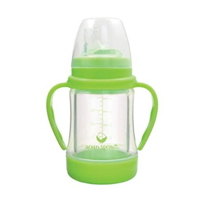 Green Sprouts Glass Sip & Straw Cup,4 Ounce by green sprouts