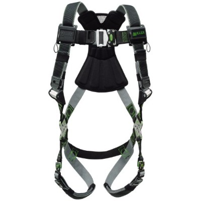 Miller Revolution Harness with Quick Connectors (RDT-QC/UBK) by Miller Fall Protection