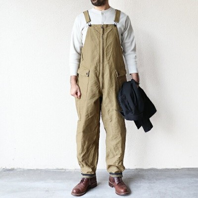 FREEWHEELERS フリーホイーラーズ DECK BIB OVERALLS 1930 - 1940s CIVILIAN MILITARY STYLE CLOTHING UNION...