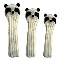 Sunfish Animal Headcover Collection Panda Headcovers【ゴルフ アクセサリー>ヘッドカバー】