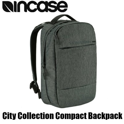 1d0a6a86697d Incase City Collection Compact Backpack Heather Black インケース シティ コレクション  コンパクト バックパック ヘザーブラック