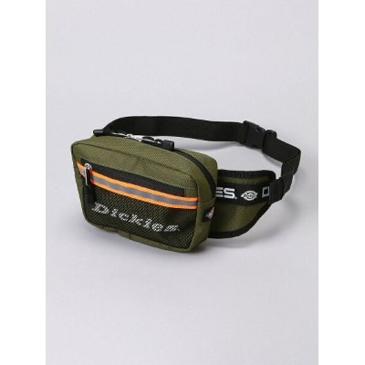 DICKIES/(U)DK REFRECTIVE TAPE WAIST POUCH ハンドサイン バッグ