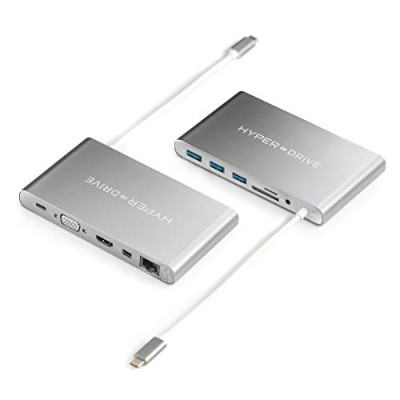"Hyperdrive Duoハブfor - C MacBook Pro 13 "" and 15 "" 2016 / 2017、Sanho 7-in-2 USB Type - Cアダプタ50..."