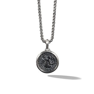 David Yurman St. Christopher Amulet ネックレス - SS