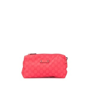 GUCCI PRE-OWNED GGポーチ - ピンク