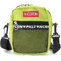 【PINK-latte(ピンク ラテ)】 ★ニコラ掲載★【NiCORON 】ショルダーバッグ OUTLET > PINK-latte > バッグ・財布・小物入れ > ショルダーバッグ イエローグリーン